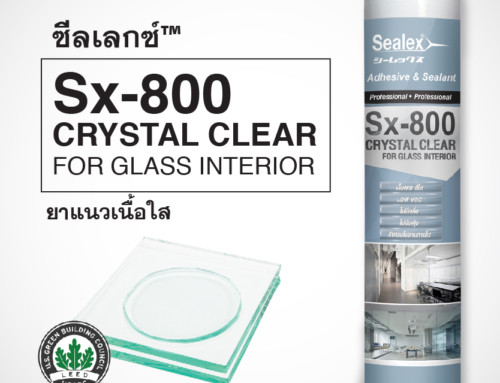 ซีลแลนท์ ยาแนว เอ็มเอส Sx-800